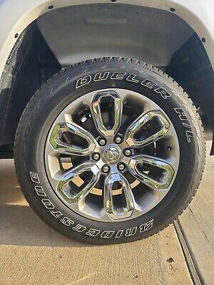 "2020 RAM OEM 20"" Wheels and Tires 1500 Laramie 4x4 (like new)"