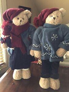 Standing Winter Bears