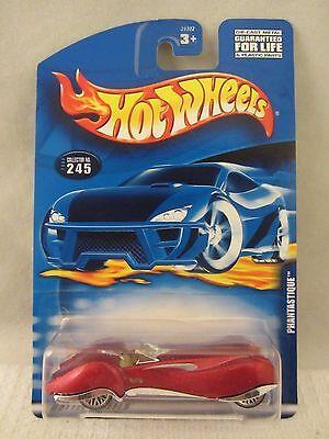 Hot Wheels  2000-245  Phantastique  Red  NOC  1:64 scale  (517+)  29302