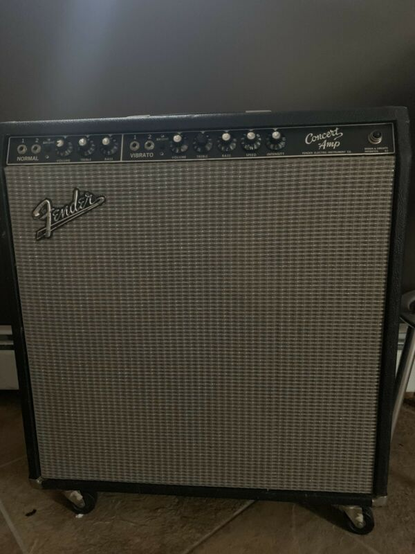 """1964 Fender Concert Amp 4-10"""""""