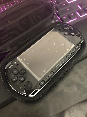 Sony PSP-3000 Playstation Portable Console Japan - Piano Black