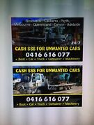 CASH $$$  FOR  UNWANTED CARS Van UTE Trucks  Liverpool Liverpool Area Preview