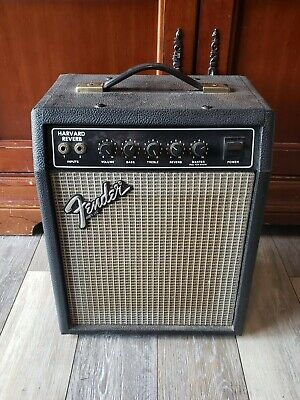 guitar amp: Fender Harvard Reverb 48 watts hardly ever used black tolex covering