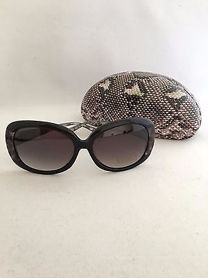 New 100%  Authentic XOXO Sunglasses XO2327 Black / Silver Gray 58-16-130