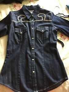 True religion dress shirt