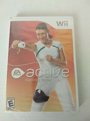 Wii Active Personal Trainer (Nintendo Wii, 2009) MINT. COMPLETE Case/Manual/#999
