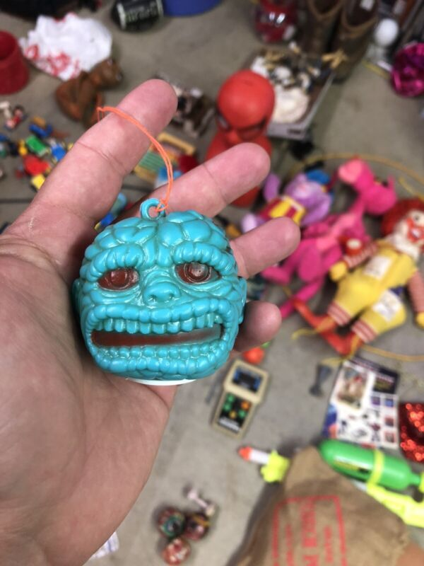 Maba Zombies Blow Mold. Complete with original candy and stickers Original