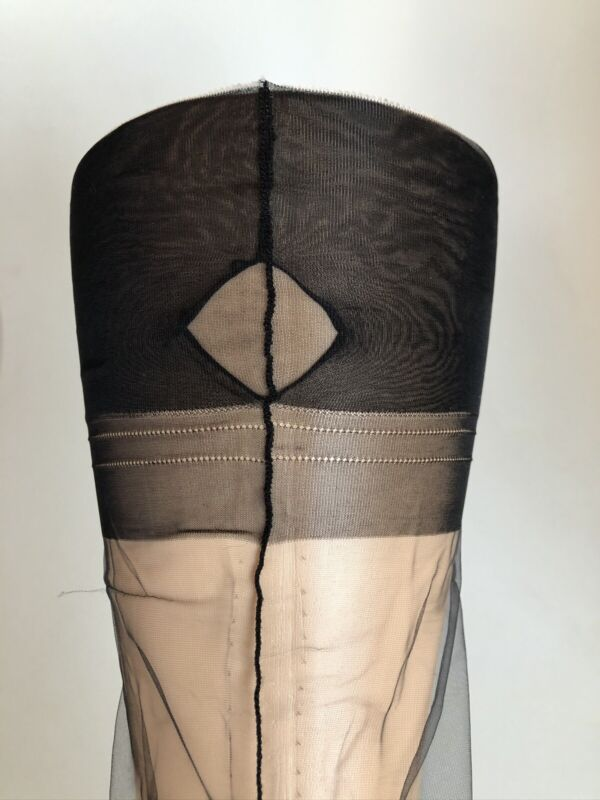 Secrets In Lace Fully Fashioned Stockings Black