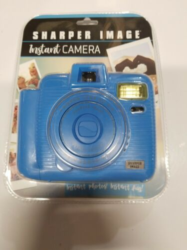 Sharper Image Instant Camera, Blue Brand New Factory Sealed