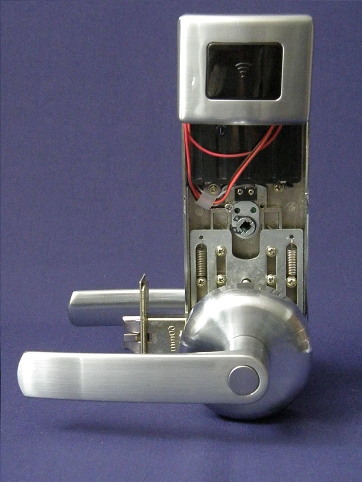 Security RFID Card Electronic Digital Door Lock MID1100LH Left Hand