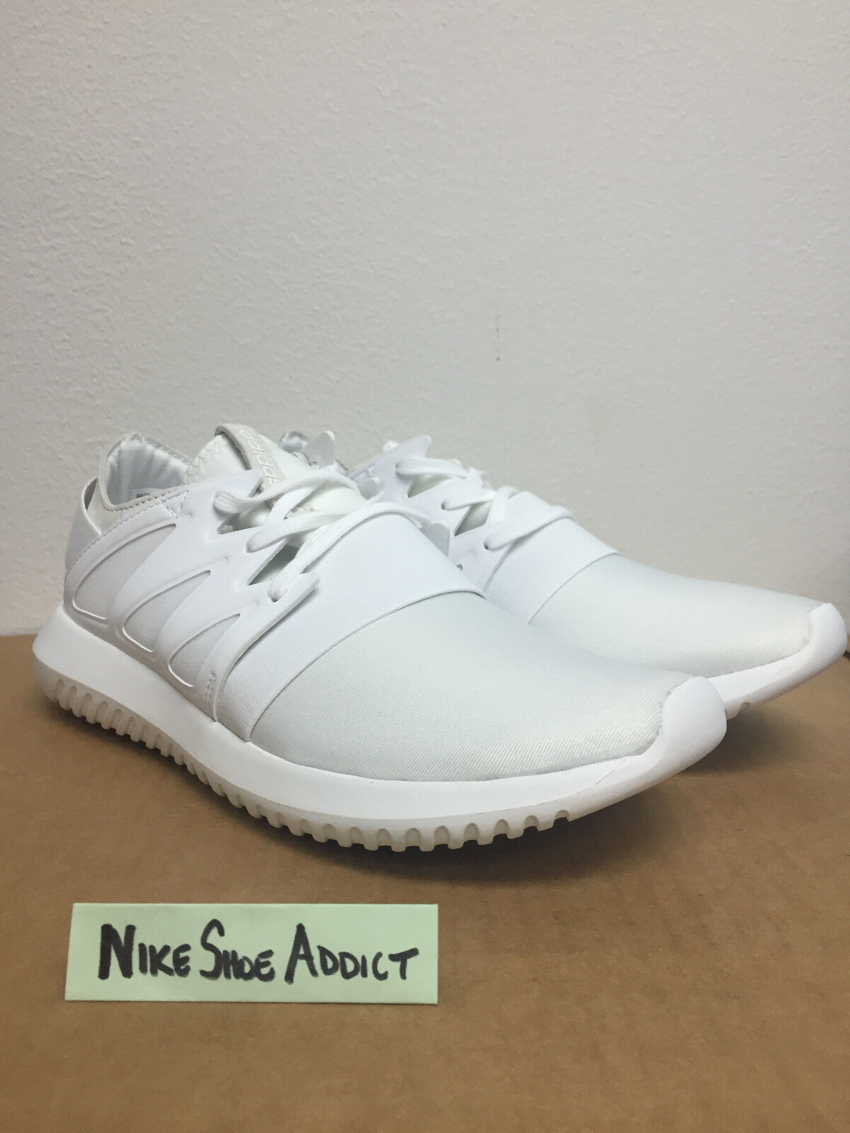 buy online 8750d 56669 Women Adidas Originals Tubular Viral W Triple Core White S75583 Work Out  mono фото