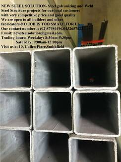 GALVANISED STEEL TUBE 100MM*100MM*3MM FOR BUILDING&,FABRICATION
