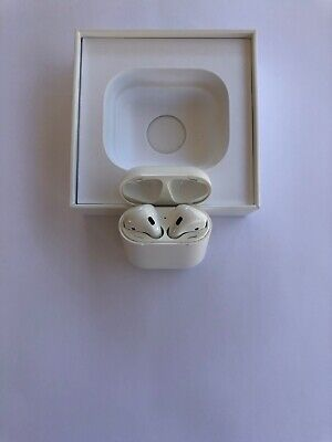 Apple AirPods with Wire Charging Case - White