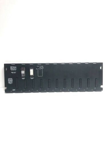 GE FANUC SERIES 90-30 PROGRAMMABLE CONTROLLER BASE 10-SLOT WITH CPU