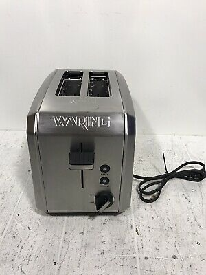 Waring Wt200 Commercial Bagel Bread Toaster 2 Slice
