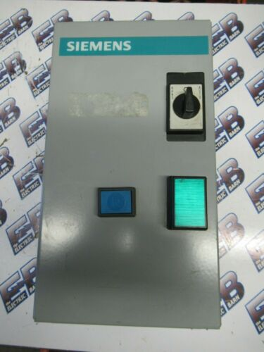 Siemens SXLBG, Size 0 Enclosed Motor Starter, 600 Volt, 120 Volt Coil- S154