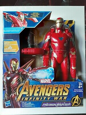 Marvel Avengers Mission Tech Iron Man Toy - French Version