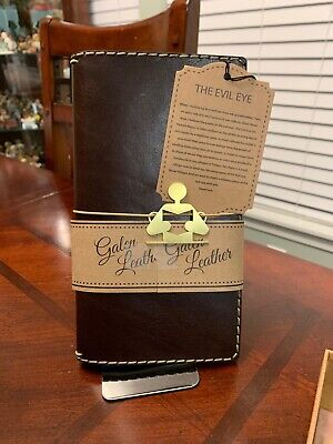 Galen Travelers Notebook Leather Cover Black Handmade