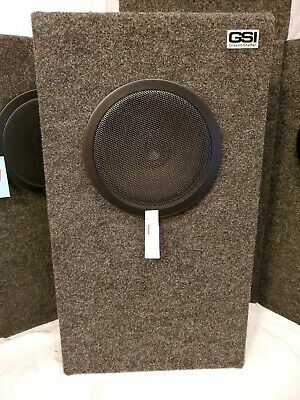 1 Pair Grason-stadler Gsi Sound Field Speaker Great Conditionpick A Setpair