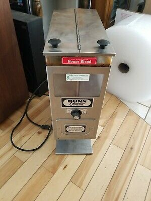 Bunn O Matic Precision Commercial Coffee Grinder G92 Series Wdual Hoppers G9