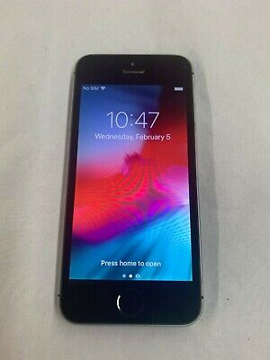 Apple iPhone 5s - 16GB - Space Gray (AT&T) A1533 (GSM)   23-12C