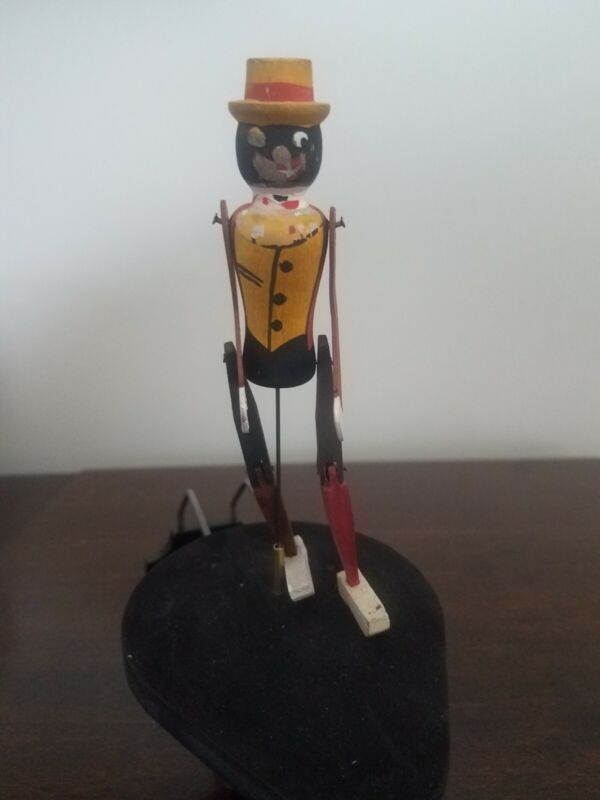 Ragtime Rastus National Toy co. Phonograph Novelty toy