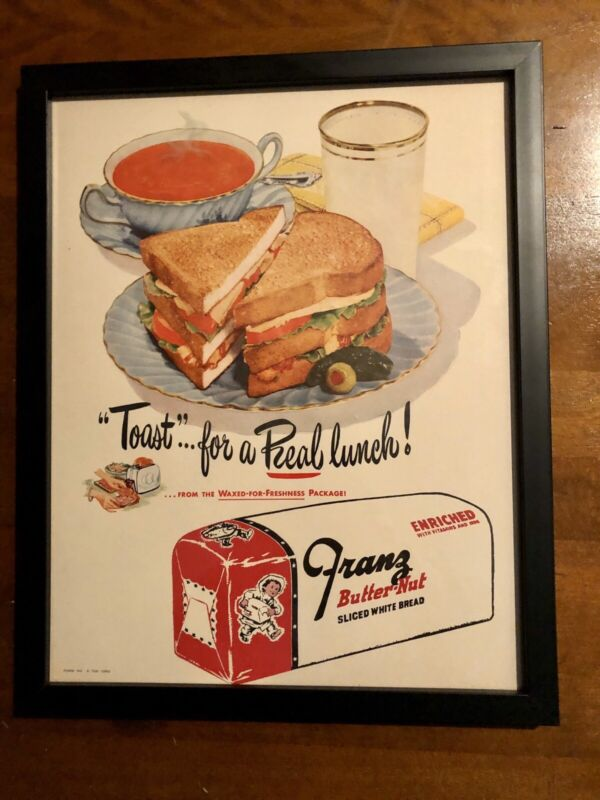 Vintage Franz Bread Advertisement
