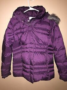 Ladies Purple Columbia Jacket