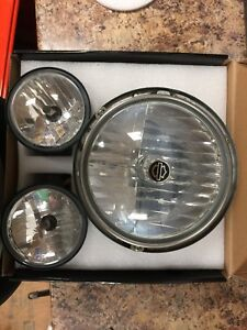Harley headlight and driving lights