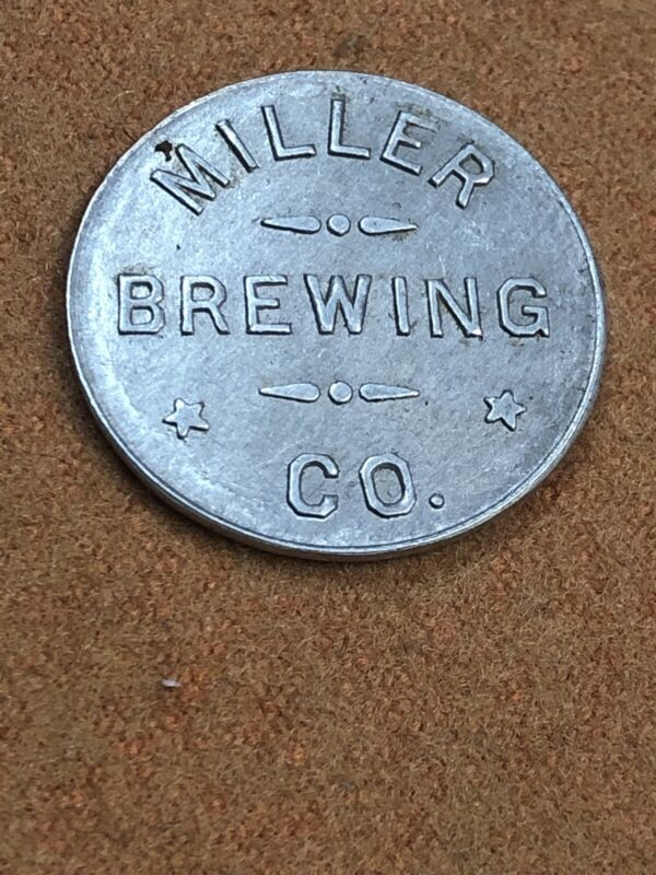 miller Beer Token Old Pre Pro Good For one Glass Of Beer Coin