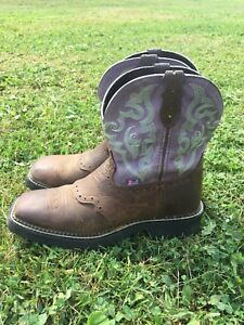 Square Toe Western Boots