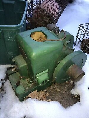 Antique Fairbanks Morse Model Z Gas Engine 1.5 H.p. Style D Liberty Magneto