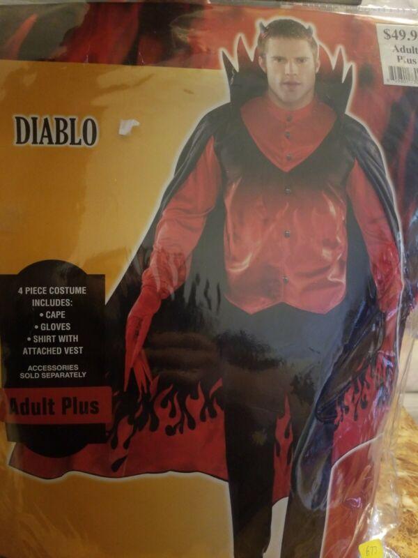 Diablo Adult Plus Halloween Costume #673