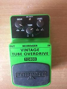 Behringer Overdrive Pedal Newcastle Newcastle Area Preview