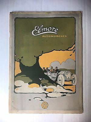 ORIGINAL 1911 ELMORE AUTOMOBILES CATALOG