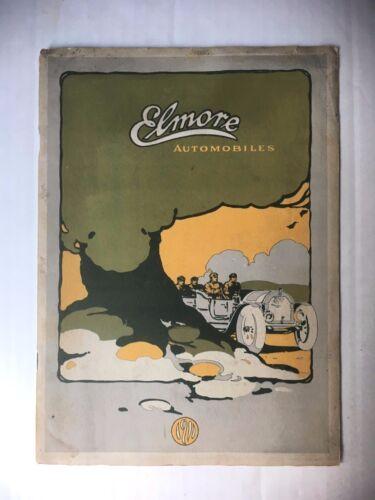 ORIGINAL 1911 ELMORE AUTOMOBILES CATALOG