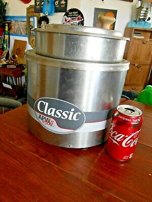 Commercial Restaurnt Soup Warmer Hot Cholcolate Wyatt Classic 2.5gal