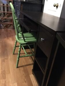 Expresso brown desk- available
