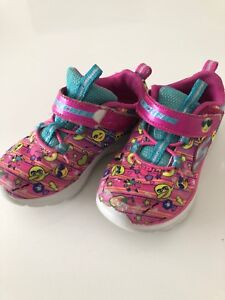 Girls Toddler Size 9 Sketchers Sneakers