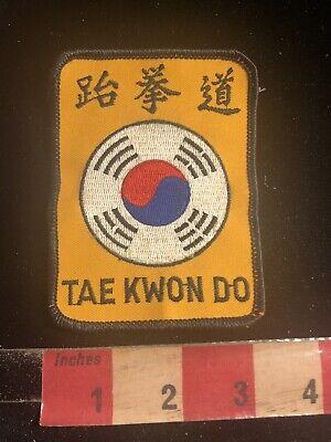 "Rare American Okinawan Patch Vtg 70s 80s Unused Karate Display MMA 4/"" Orange"