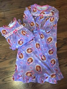 Disney's Sophia the First Pj's . 3 pairs!size 4, 6 and