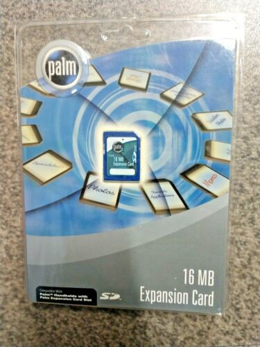 Palm PDA P10827U 16MB SD Expansion card *NEW* Sealed