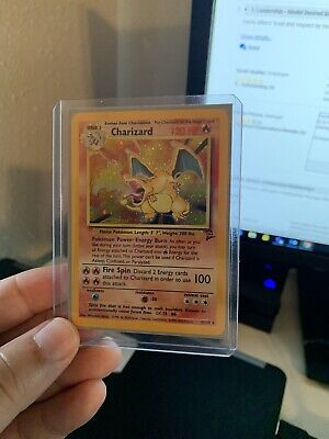 Charizard 4/130 Base Set 2 Holo Rare Pokemon Card . MP See Photos