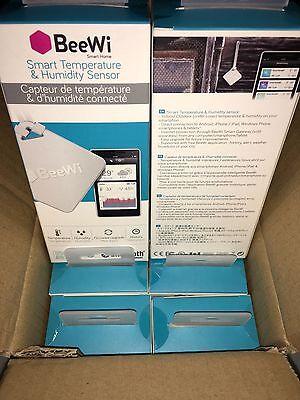 Beewi Bluetooth 4.0LE Smart Temperature Humidity Sensor BBW200A1US NEW!