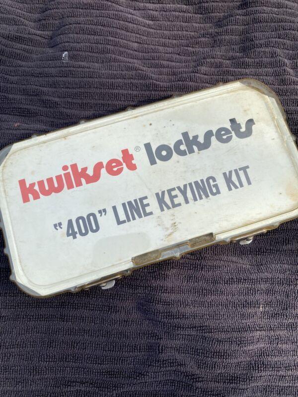Kwikset Locksets 400 Line Keying Kit Pin Kit Locksmith