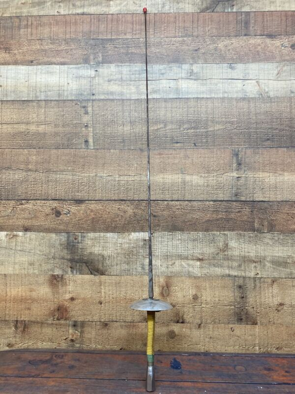 """Vintage Fencing Sword French Prieur 43"""" Castello Iron Blade Made France Paris"""