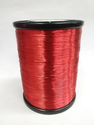 New, Coated Copper Survey Wire # 32 3 Mile 2Lb 14Oz W/Spindle
