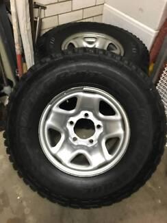 Toyota Land Cruiser Wheels & Tyres