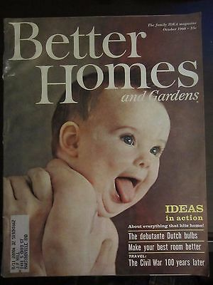 Better Homes & Garden Magazine October 1960 Civil War 100 Years Later