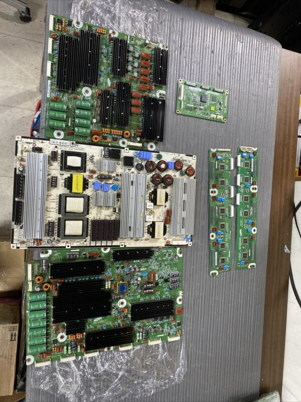 SAMSUNG MOD: PN59D7000FFXZA  POWER SUPPLAY & SUSTAIN BOARD & T-CON BOARD